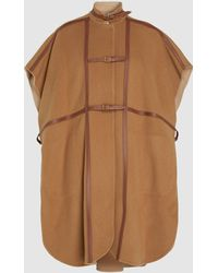 Burberry Ashburton Wool-blend Cape - Multicolour