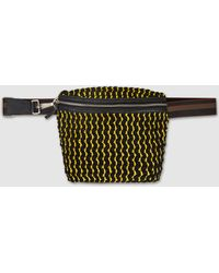 Rachel Comey - Keno Woven Cotton And Canvas Belt Bag - Lyst