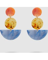 Rachel Comey - Neale Tri Drop Acrylic Earrings - Lyst