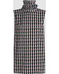 Marni - Printed Cotton Sleeveless Turtleneck Top - Lyst