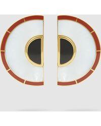 Monica Sordo - Brujo Half Orbit Earrings - Lyst