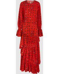 Preen Line - Amina Floral Vine Dress - Lyst
