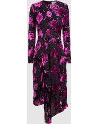 Preen By Thornton Bregazzi - Alyssa Dress With Black Silk Slip - Lyst