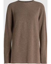 JOSEPH - Rolled-edge Cashmere Tunic Sweater - Lyst