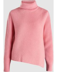 Cedric Charlier - Turtleneck Knit Wool-cashmere Sweater - Lyst