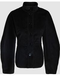 Lemaire - Exaggerated-sleeve Corduroy Jacket - Lyst