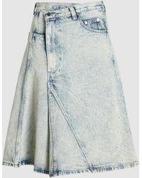 Proenza Schouler Denim Skirt - Blue