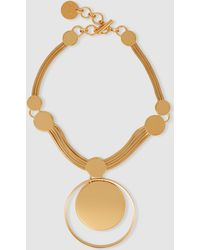 Lanvin - Concentric Circle Necklace - Lyst