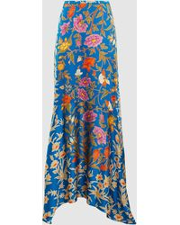 Peter Pilotto - Floral Print Maxi Skirt - Lyst