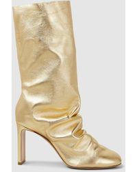 Nicholas Kirkwood Stiletto Heel Boots - Metallic