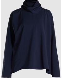 Sofie D'Hoore Bright Long Sleeve Cotton Top - Blue