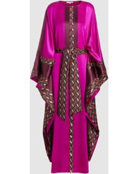 ‎LAYEUR‎ - Silk Raphaella Kaftan Dress - Lyst
