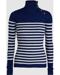 Baum und Pferdgarten - Knit Sailor Stripe Turtleneck Sweater - Lyst
