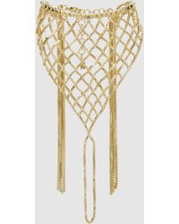 Rosantica - Aquilone Fringed Gold-tone Hand Piece - Lyst
