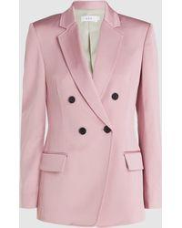 A.L.C. Sedgewick Long Sleeve Tailored Blazer - Pink