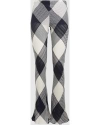 Marques'Almeida - Checked Cotton Trousers - Lyst