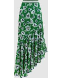 Missoni - Asymmetrical Hemline Maxi Skirt - Lyst