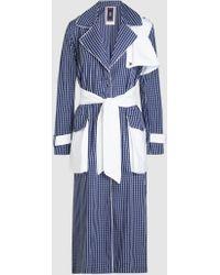Taller Marmo - Toro Fresco Cotton Shirt Dress - Lyst
