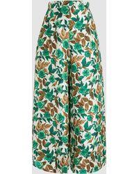 Rachel Comey - New Nocturrne Floral-print Silk Culottes - Lyst