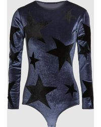 Alexia Hentsch - London Stars Long Sleeve Bodysuit - Lyst