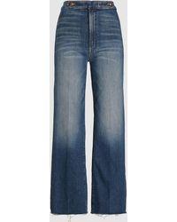 Mother The Loop De Loop Flared Jeans - Blue