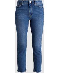 M.i.h Jeans Niki Cropped Skinny Jeans - Blue