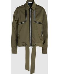 JW Anderson - Two-way Zipper Twill Tech Taffeta Jacket - Lyst