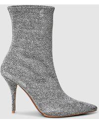 Tabitha Simmons - Eldon Metallic Stretch Lurex Ankle Boot - Lyst