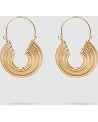 Rosantica Passato Layered Gold-tone Hoop Earrings - Metallic