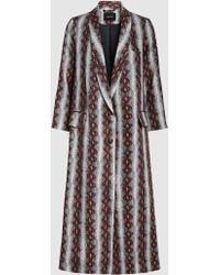 Rachel Comey - Rambler Snake-print Linen Coat - Lyst