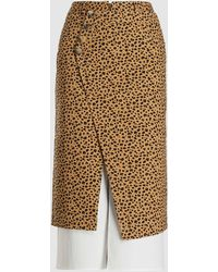 Rejina Pyo Steffi Midi Skirt - Multicolor