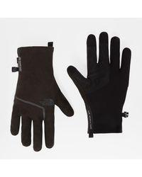 The North Face Gants Closefit En Polaire Gore-tex® Homme Tnf - Noir