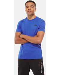 The North Face Men's Simple Dome T-shirt Tnf - Blue