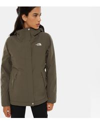 The North Face Women's Inlux Insulated Jacket New Taupe - Green
