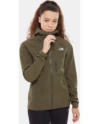 The North Face Women's Apex Flex Goretex® 2.0 Jacket New Taupe - Green