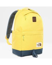 The North Face Daypack Backpack Bamboo /blue Wing Teal One - Yellow