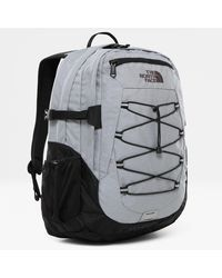 The North Face Borealis Classic-rugzak Mid Grey Heather/tnf - Zwart