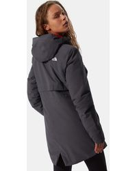The North Face Women's Hikesteller Insulated Parka Vanadis /flare - Grey
