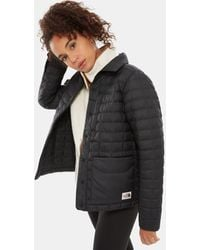 The North Face Women's Thermoballtm Eco Snap Jacket Tnf - Black