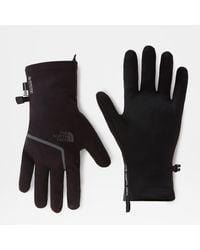 The North Face Gants Closefit En Softshell Gore-tex® Homme Tnf - Noir