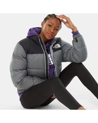 The North Face Women's 1996 Retro Nuptse Jacket Tnf Medium Heather - Grey