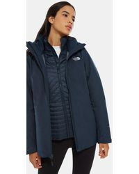 The North Face Women's Inlux Zip-in Triclimate® Jacket Urban /urban - Blue