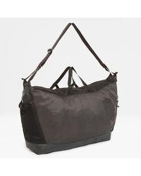 The North Face Flyweight Duffel Bag Asphalt Grey/tnf One - Black