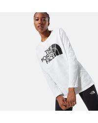 The North Face - T-shirt À Manches Longues Standard - Lyst