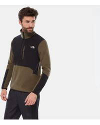 The North Face Pull-over En Polaire Glacier Pro 1/4 Zippé - Noir