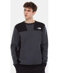 The North Face Unisex Rage Graphic Crew Pullover Asphalt - Grey