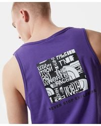 The North Face Distorted Logo Tank Top - Black