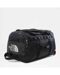 The North Face Base Camp Duffel Roller Tnf One - Black