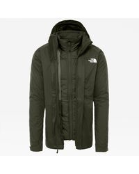 The North Face Men's Modis Triclimate Jacket New Taupe - Green