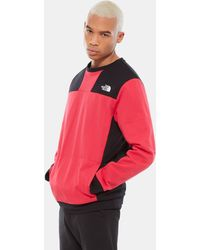 The North Face Pull Unisexe À Col Ras-du-cou U Rage Graphic Rose - Rouge